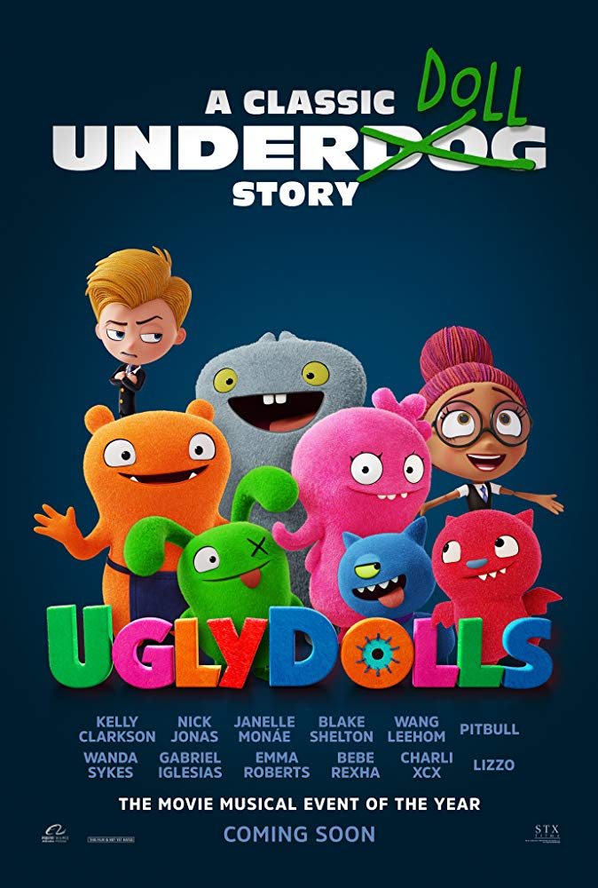 Ugly Dolls 2019 Ten Stars or