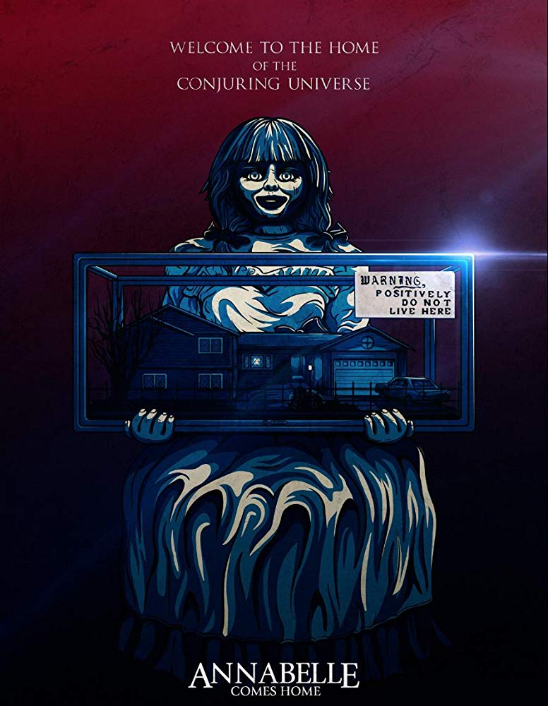 Contoh Soal Dan Materi Pelajaran 10 Annabelle Comes Home 2019 Movie Poster